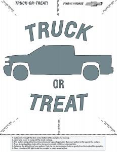 Chevolet-Truck-Or-Treat-Pumpkin-Stencil