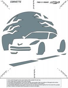 Chevrolet-Corvette-Pumpkin-Stencil