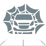 Chevrolet-Spark-Web-Pumpkin-Stencil