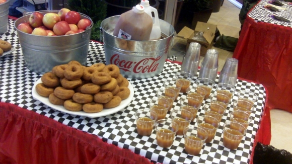 Cider and Donuts at the LaFontaine Family Fun Fest