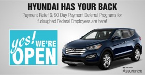 Hyundai Assurance Furloughed Federal Employees