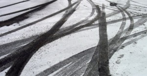 23-Must-Know-Tips-Safely-Drive-On-Icy-Roads-Skid-Marks