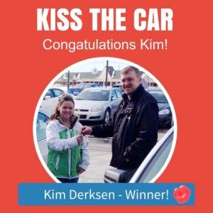 Kim Derksen win Kiss the Car