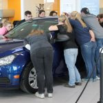 Kiss the Car at LaFontaine Chevrolet