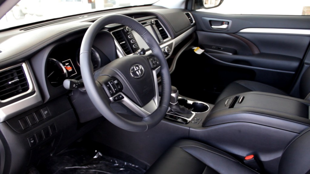 Lovely 2014 Toyota Highlander Interior