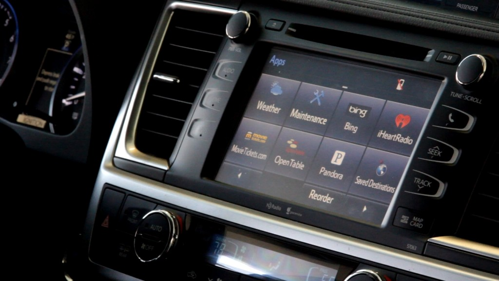 2014-Toyota-Highlander-Interior-Controls