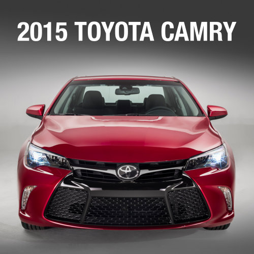 Redesigned 2015 Toyota Camry Revealed At The New York Auto