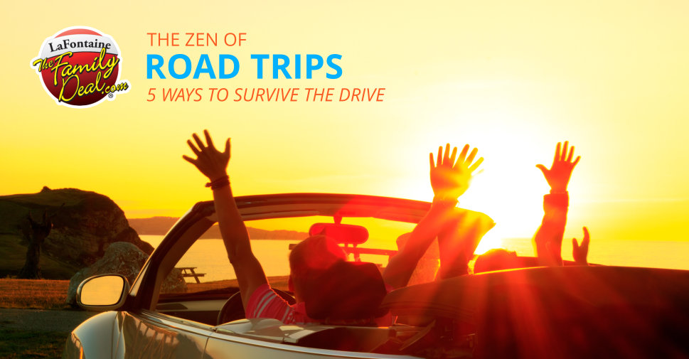 The Zen of Road Trips: 5 Ways to Survive the Drive