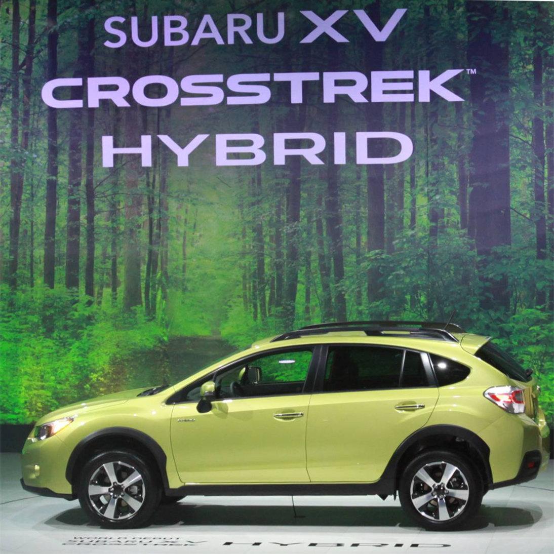 Save on Gas Mileage with the all-new 2014 Subaru XV Crosstrek Hybrid   (via @LaFontaineAuto)
