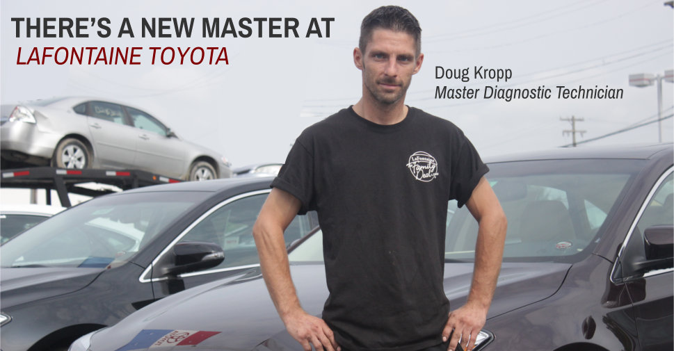Lafontaine Cadillac Buick Gmc >> There's a New Master at LaFontaine Toyota (via ...