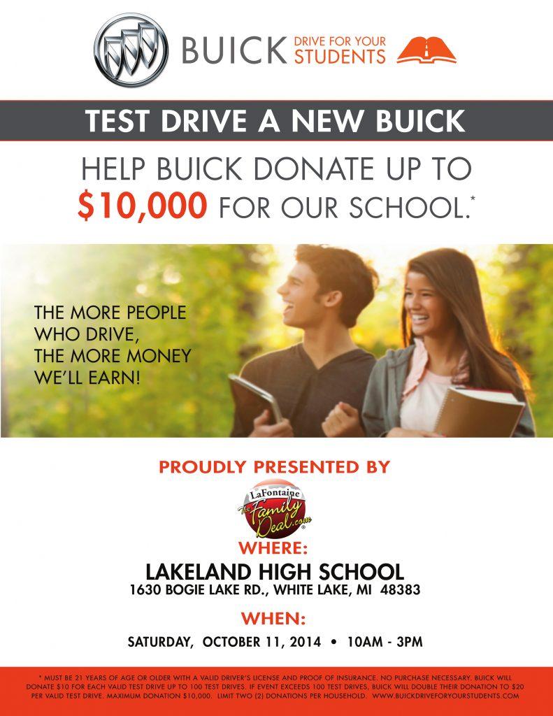 Lakeland-High-School-Buick-Test-Drive-Flyer