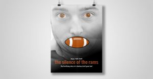 Silence of the Rams Poster