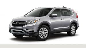 2015 Honda CR-V in Alabaster Silver