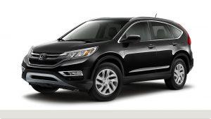 2015 Honda CR-V in Crystal Black Pearl