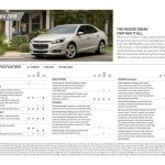 2015 Chevrolet Malibu Spec Sheet