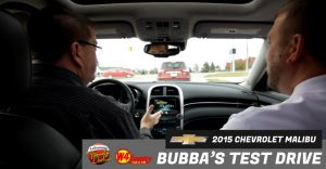 Bubba's Test Drive 2015 Chevrolet Malibu