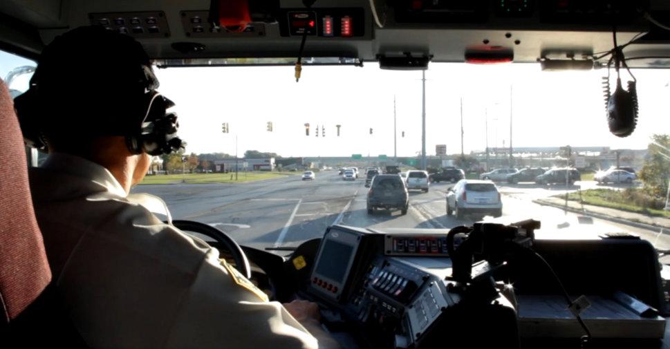 Hartland-Area-Fire-Truck-Drive-To-School
