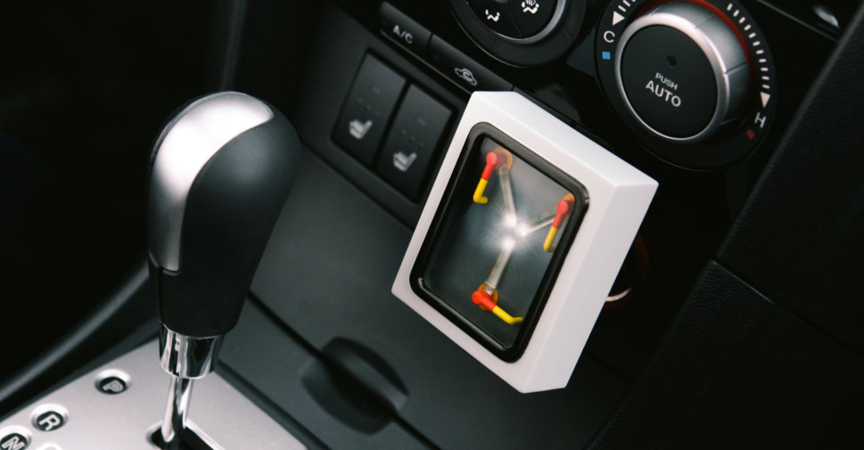 09 - Flux Capacitor USB Car Charger