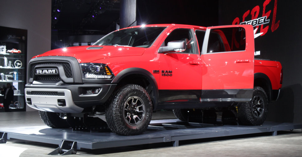 2015 Ram 1500 Rebel at NAIAS