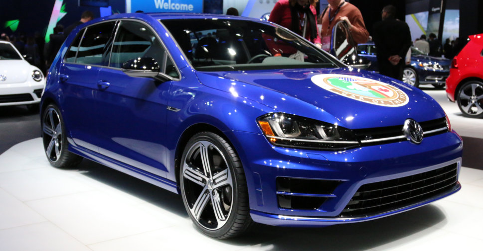 2015 VW Golf North American Car of the Year