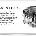 2016 Cadillac CTS-V Supercharged V8 Engine
