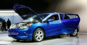 2016 Chevrolet Volt at NAIAS