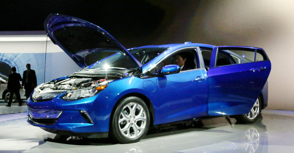 2016 Chevrolet Volt at NAIAS