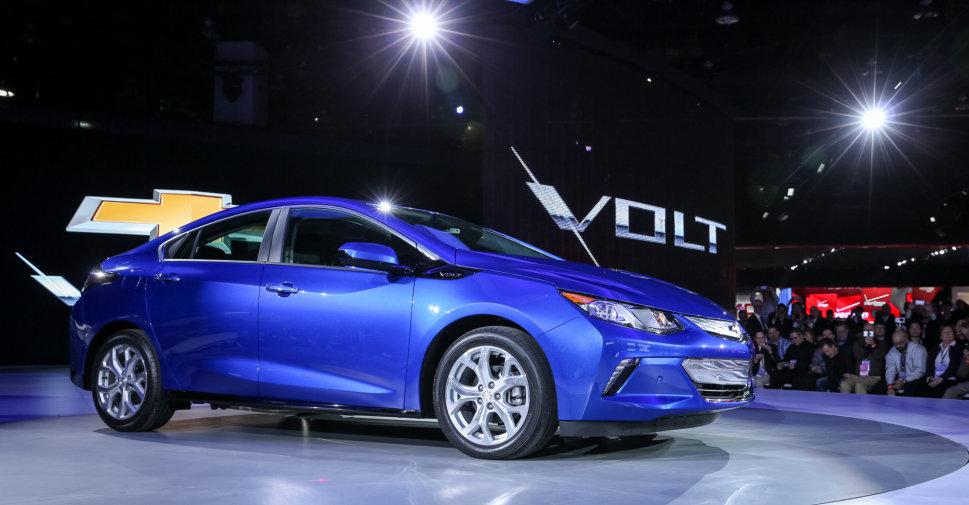 2016 Chevrolet Volt at the Detroit Auto Show