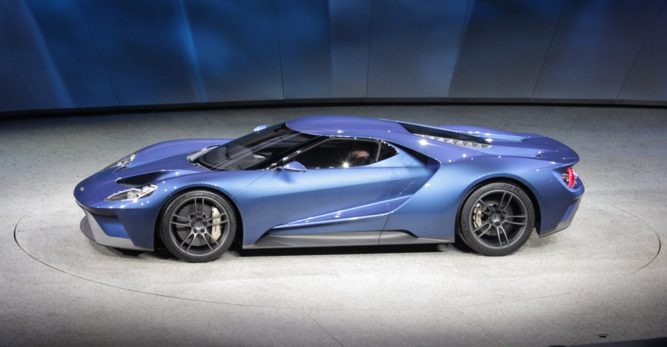 2016 Ford GT at NAIAS