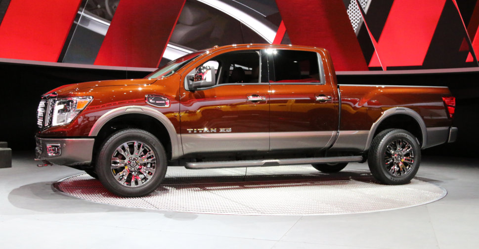 2016 Nissan Titan XD at NAIAS