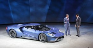 2017 Ford GT Unveiled at NAIAS