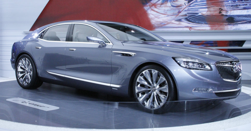 Buick Avenir Concept at NAIAS