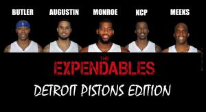 Detroit Pistons - The Expendables
