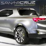 Hyundai Santa Cruz Crossover Truck Concept at NAIAS