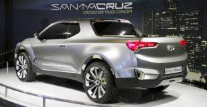 Hyundai Santa Cruz Crossover Truck Concept at NAIAS