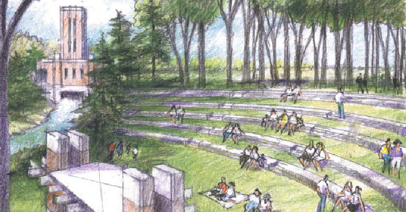 LaFontaine Family Amphitheater  Drawing