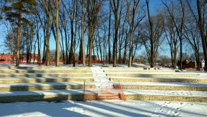 LaFontaine Family Amphitheater Milford Central Park