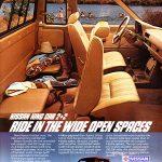 Nissan 1985 King Cab Pickup Truck