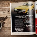 1974 Toyota Celica Vintage Magazine Ad