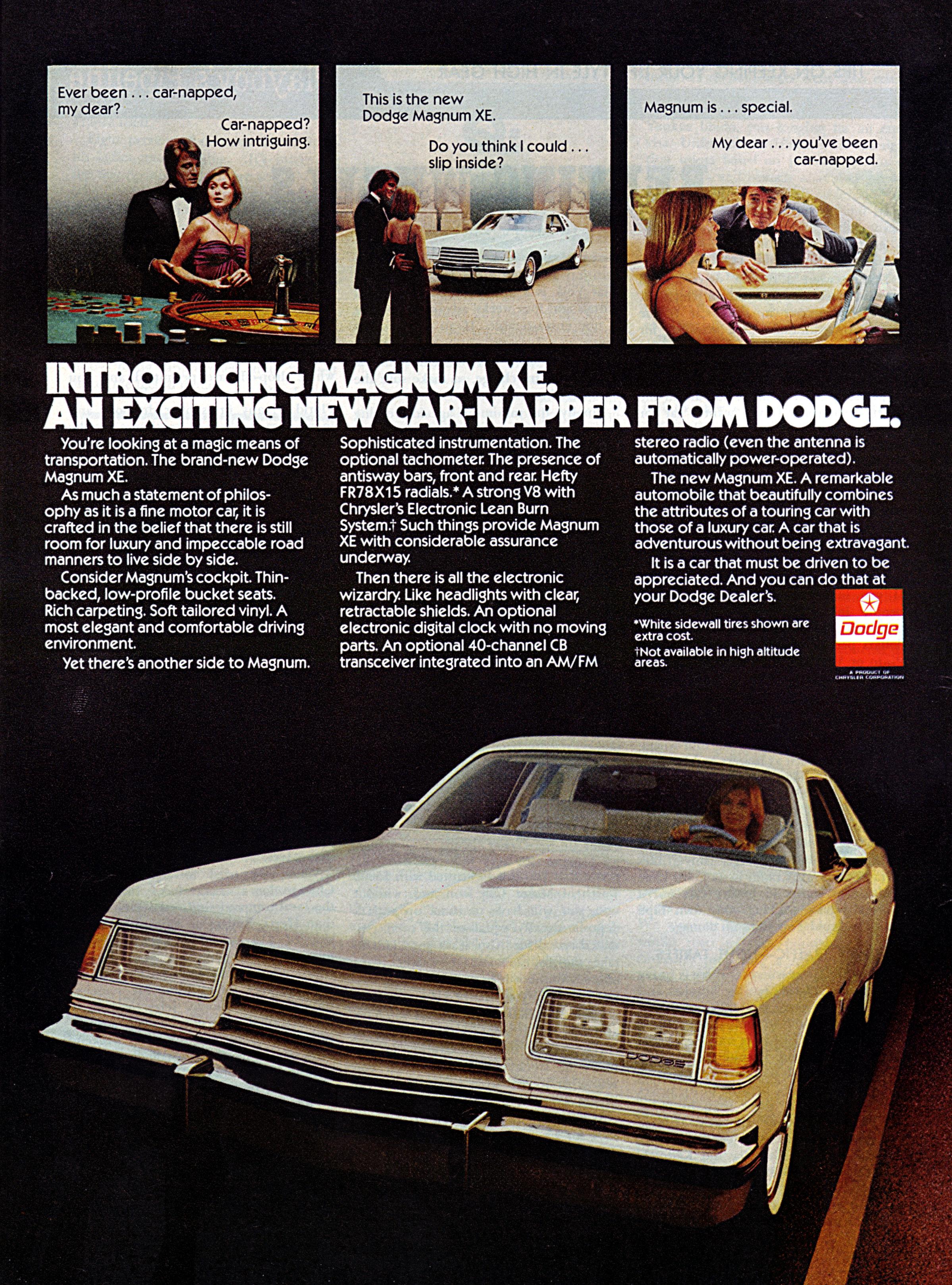 Dodge Magnum Xe Edit on 1978 Dodge Magnum