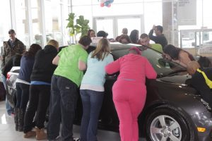 Kiss The Car at LaFontaine Chevrolet in Dexter, MI