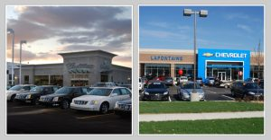 LaFontaine Cadillac Buick GMC and LaFontaine Chevrolet