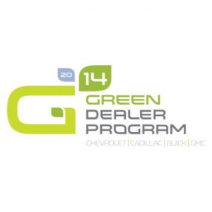 General Motors Green Dealership Program logo