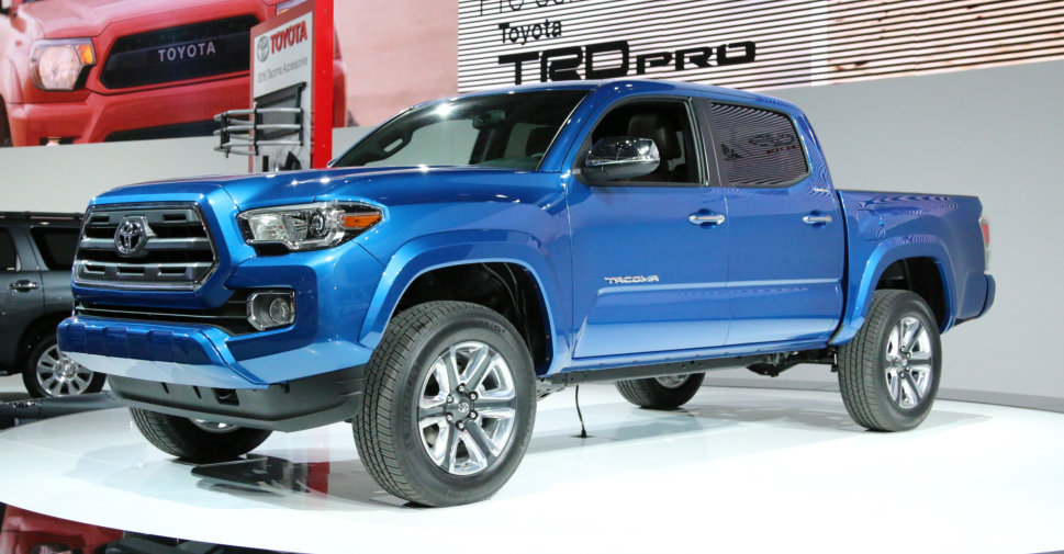 2016 Toyota Tacoma At The North American International Auto Show