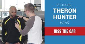 Theron Hunter wins Kiss the Car