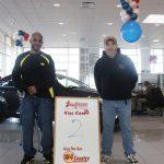 Theron Hunter and Steven Gray at Kiss the Car