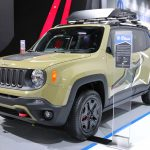 2015 Jeep Renegade at the North American International Auto Show