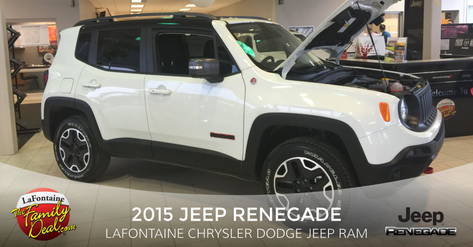 2015 Jeep Renegade at LaFontaine Chrysler Dodge Jeep Ram
