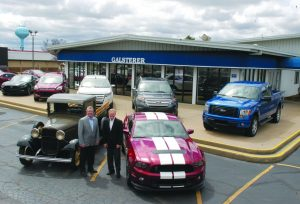 Galsterer Ford is now LaFontaine Ford of Frankenmuth