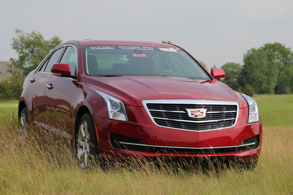 2015 Cadillac ATS at Prestwick Village Golf Club